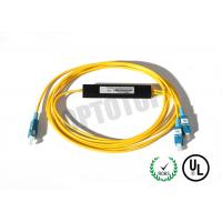 Buy cheap 1x2 Coupling Ratio 5:95 1480/1550nm Fiber Coupler Single Mode SC/UPC 2mm SMF-28e from wholesalers