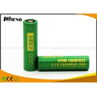 Quality High Discharge Rate 18650 Vape Battery 2800mAh Li-ion E-Cig Battery Cell for sale