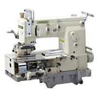 Quality 12-needle Flat-bed Double Chain Stitch Sewing Machine for simultaneous shirring FX1412PQ for sale
