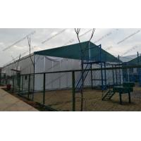 Quality Big Movable Outdoor Warehouse Storage Tent , Canvas Storage Tent Sandwich Panel Walling System for sale