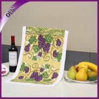 Quality High Quality Beautiful Printed Kitchen Towel With Fruits for sale