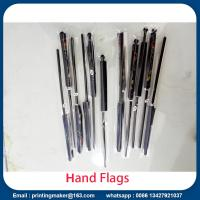 Buy cheap Custom Hand Waving Flags with Solid Flagpole from wholesalers