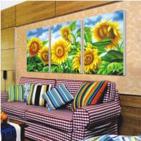 China room decoration printing digital photos on linen canvas / cotton / polyester , 1440DPI on sale
