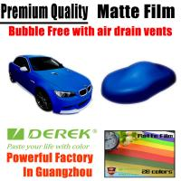 Quality Matte Car Wraps Vinyl Film - Matte Coffee/Brown/Chocolate Car Wrapping Film for sale