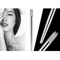 Buy cheap Professional Eyebrow Heavy Silver Manual Pen With Hairstroke Technology For Microblading from wholesalers