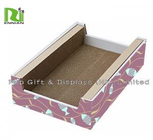 Buy cheap Corrugated Cardboard Furniture Indoor Cat House Cardboard Cat Scratcher from wholesalers