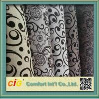 China 145cm Wide Funitures Sofa Upholstery Fabric ,  Flock Velvet Upholstery Fabric on sale