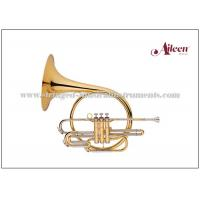 Quality Piston Valves Brass Musical Instruments Lacquered French Horn Music Instrument for sale