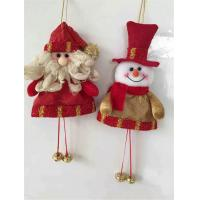 Best Christmas hanging ornament  christmas wonderful doll toy decoration wholesale