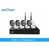 Quality 2.0 Megapixel Bullet Wireless IP Camera System , 4 Camera Wireless Security System for sale