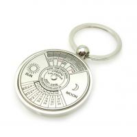 Quality Fashionable Personalized Metal Key Chains Zinc Alloy Material Nickel Plated for sale