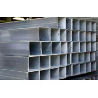 Quality Q195 / Q235 Galvanized Steel Square Tubing , ASTM A53 Hollow Section Square Steel Tube for sale