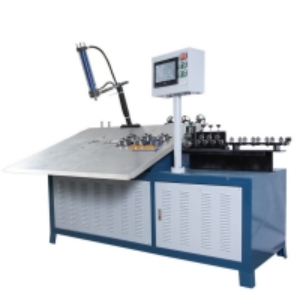 Quality PLC Motorised Carbon Steel Wire Bending Machine PLC Control for sale