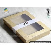 Quality Eco Friendly Food Packing Boxes Kraft Paper Food Boxes For Little Cakes for sale