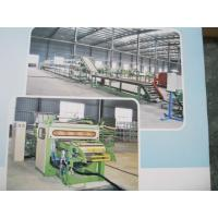 Buy cheap Vehicle Tire Recycling Rubber Machinery , Outer Tyre Surface Cutting Line For from wholesalers