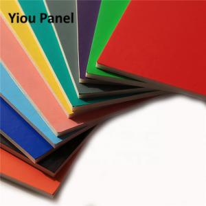 Quality Flat Shape UV Printing Sheet Acid Resistance Light Weight Polystyrene Foam Board for sale