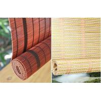 Quality Modern Natural Bamboo Roll Up Window Blind Customized Length 1.28kg/Sqm for sale