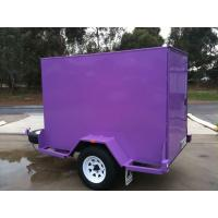 Quality Custom 6 X 4 Enclosed Trailer , Small Enclosed Cargo Trailers Single Axle for sale