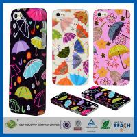 Quality Colorful Umbrella Hard Skin Cover Shell Apple Cell Phone Cases For Iphone 5G 5 5S for sale
