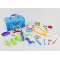 Quality Colorful Pretend Play Medical Kit 17 Pcs , Children's Toy Medical Case for sale