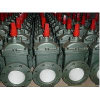 Quality Electric Resilient Wedge Gate Valve / Flanged Water Supply Gate Valve for sale
