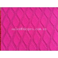 China Hot Embossing Neoprene Rubber Sheeting For Cooler Bags, Laptop Sleeves on sale