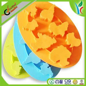 China Nontoxic Silicone Baking Kitchenware ,  Cake / Ice / Soap World Map Shaped Mould on sale