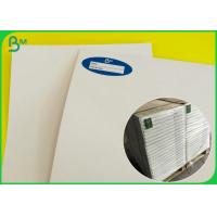 China Size Customized FBB Board / SBS Board White Color For Making Clothing Tags on sale