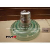 Quality Glass Suspension Insulators / Clear Glass Insulators With CS IEC Certificate for sale