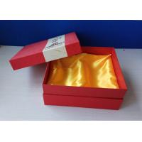 China Specialty Paper Custom Printed Gift Boxes Iron Silver Logo Silk Screen Printing on sale