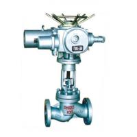 Buy cheap cast steel stainless steel 4-20MA electric globe stop valve angle steam astm from wholesalers