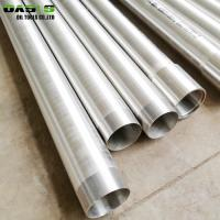 Quality Cold Rolled Stainless Steel Well Casing , API 5CT Perforated Casing Pipe for sale