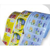 Quality Waterproof Beverage Paper Stickers With Strong Glue supplier for sale