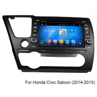 Quality 2014 2015 Civic Saloon Honda DVD Player Mirror Link Car Touch Screen Radio GPS Navigation for sale