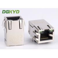 Quality 100Mb single port 8 pin modular jack rj45 ethernet connector with isolation transormer for sale