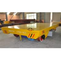 Quality Heavy Duty Rail Flat Electric Transfer Cart 100ton Table 1800x3000mm On tracks for sale