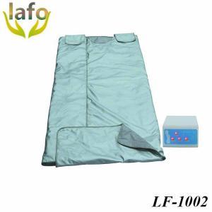Quality 3 zones far infrared sauna thermal blanket slimming body wrap blanket for sale