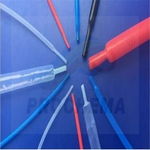 Quality PVDF 175℃ transparent antiflaming heat shrinkable tube for sale
