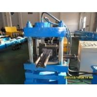 China Color Steel Plate Rack Roll Forming Machine 20 Forming Stations on sale