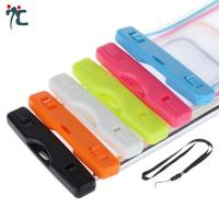 Buy pvc mobile cell phone waterproof plastic polyester sports bag for phone at wholesale prices