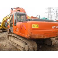 Long Reach Used Crawler Excavator , Hitachi ZX200 Used Excavating Equipment