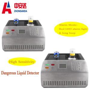 Quality Dangerous Liquid Airport Baggage Scanner , Portable Water Metal Detector Machine for sale