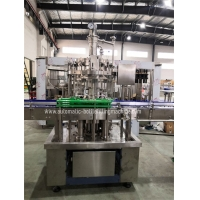 Quality SUS304 3000bph Automatic Beer Bottle Filler 18 Filling Heads for sale