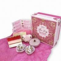 China Handmade Soap and Gift Box, Gift Sets with Bath Bomb, OEM Orders Welcomed on sale