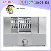 Buy Commercial Ice Maker / Ice Cube Making Machine With PLC Central Program Control at wholesale prices