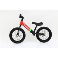 Quality 14inch High Carbon Steel No Pedal Children Balance Bike Child Walking Bike With Off-road Tires for sale