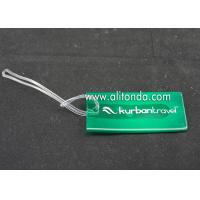 Buy cheap Plastic PP Hard PVC luggage tag custom voltage luggage tag supply card shape from wholesalers