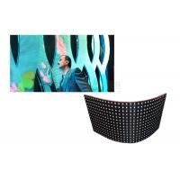 Best 1/16 Scan Flexible Led Display Panels For Indoor / Outdoor 22487 Pixels/Sqm wholesale