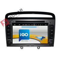 Quality HMDI Output Double Din Dvd Car Stereo , Peugeot 408 / Peugeot 308 Dvd Player Built - In WIFI for sale