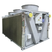 Quality 15kw Industrial Dry Type Air Condenser Cooler for Air Conditioner Industry for sale